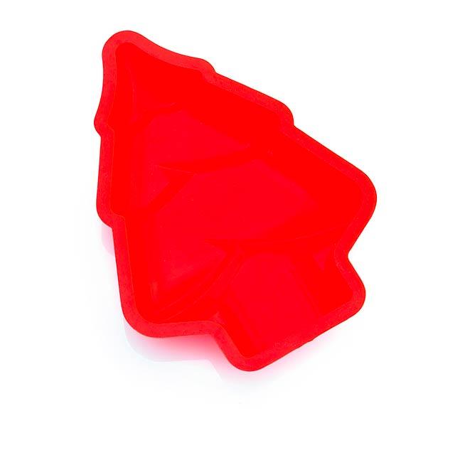 Berna forma na bábovku - červená