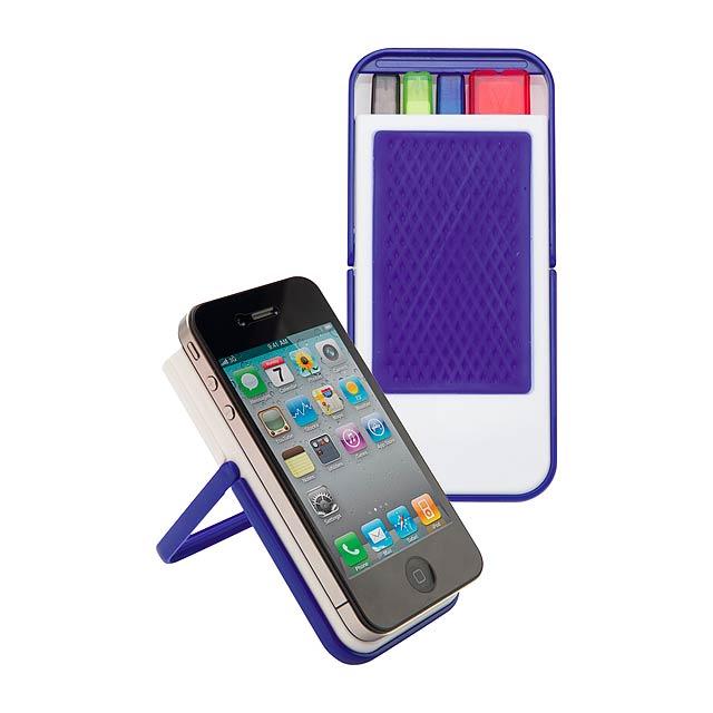 Fenix stojan na mobilní telefon - modrá
