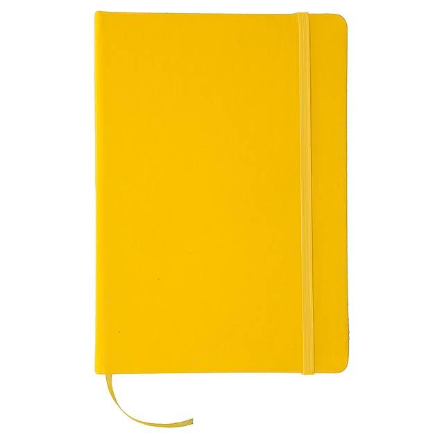 Cilux poznámkový blok - žlutá