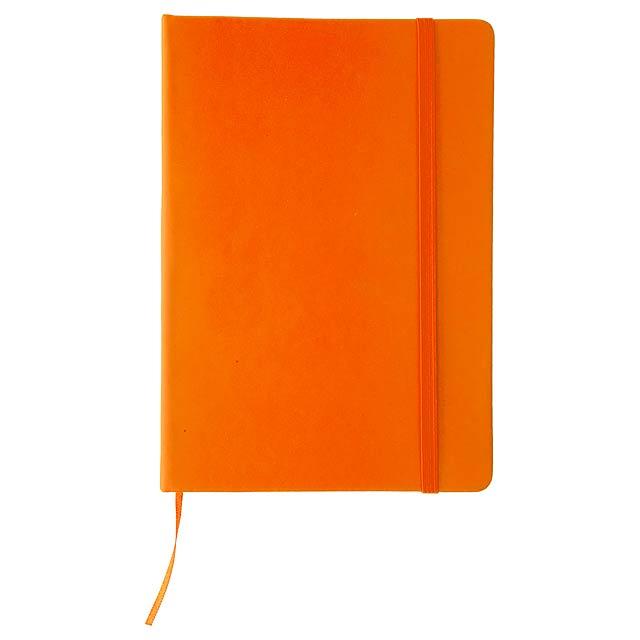 Cilux poznámkový blok - oranžová