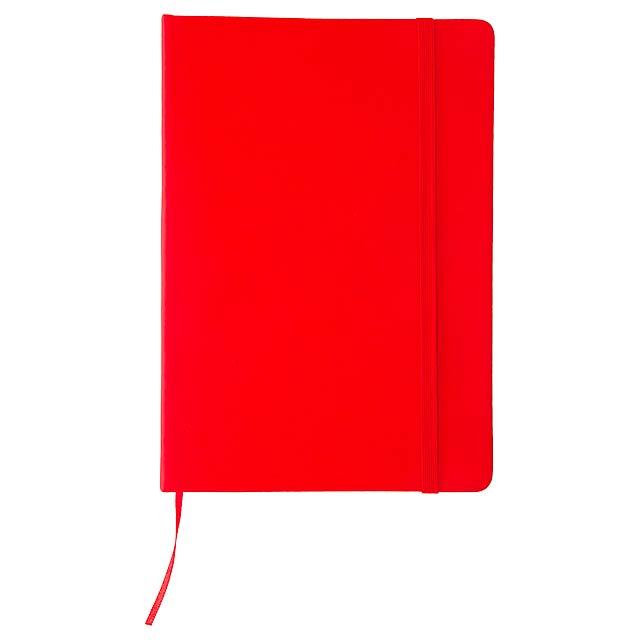 Cilux poznámkový blok - červená