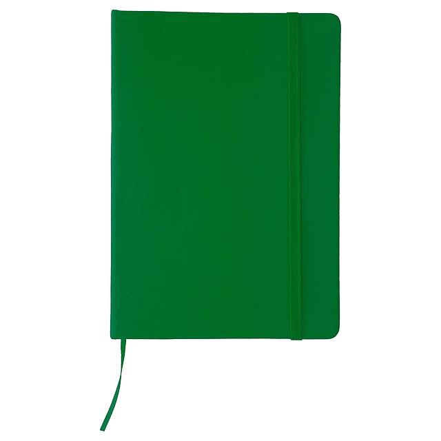Cilux poznámkový blok - zelená