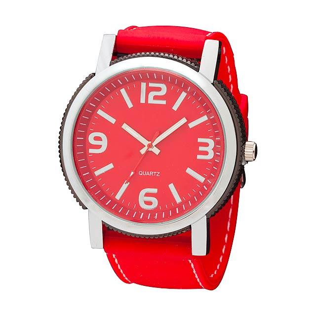 Lenix hodinky - červená