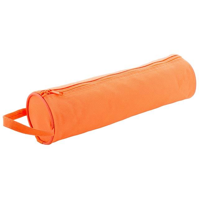 Celes pouzdro na tužky - oranžová