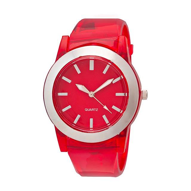 Vetus hodinky - červená