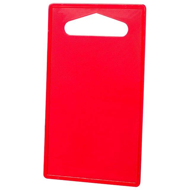Baria prkénko - červená