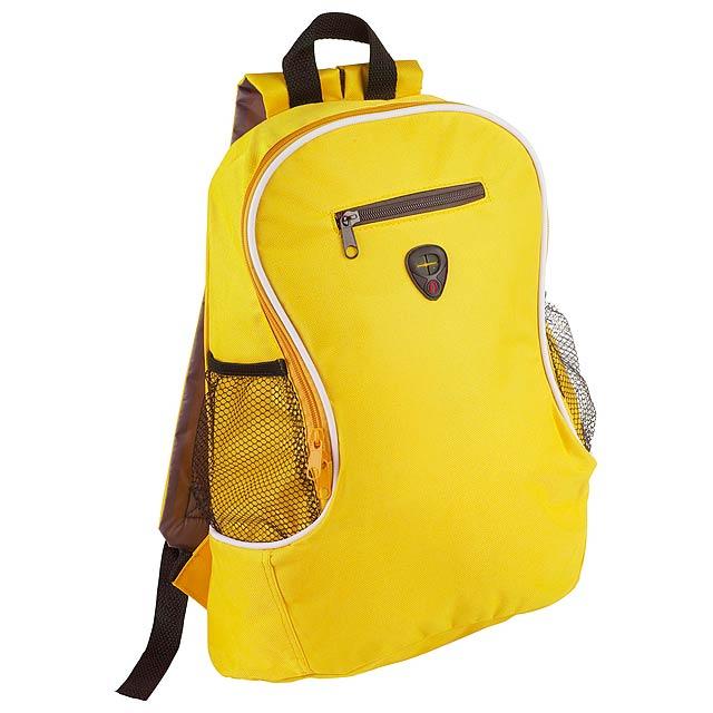 Humus batoh - žlutá