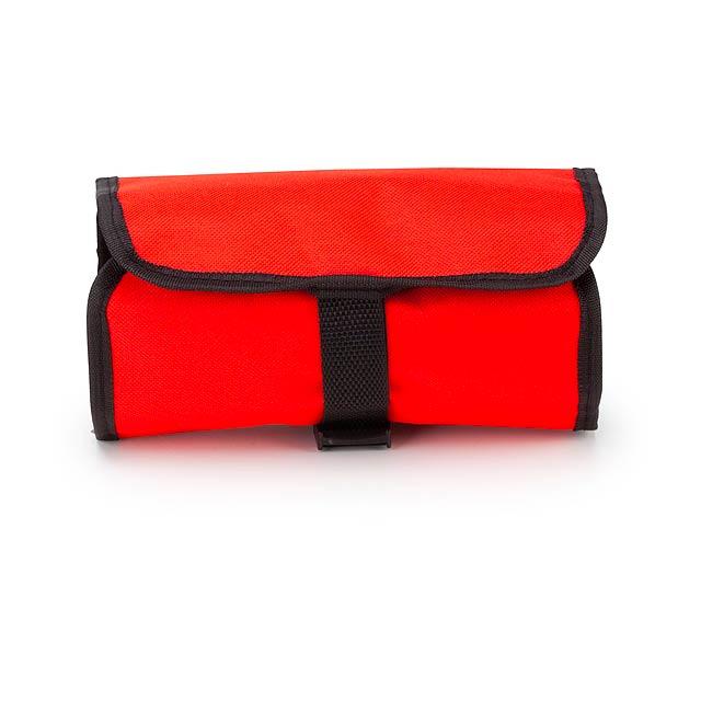 Yeka kosmetická taška - červená