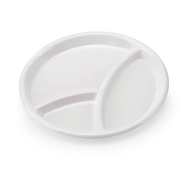 Zeka servírovací tácek - bílá