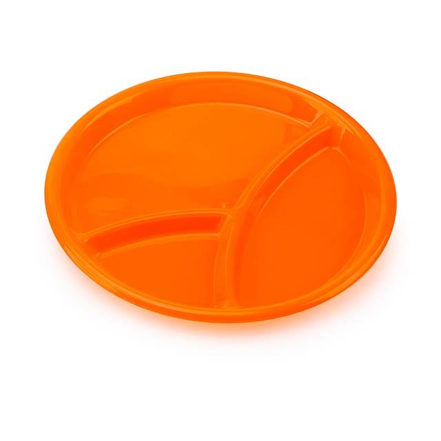 Zeka servírovací tácek - oranžová