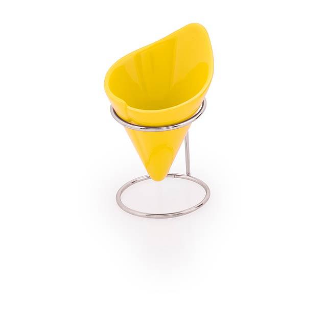 Teurus Pohárek na zmrzlinu - žlutá