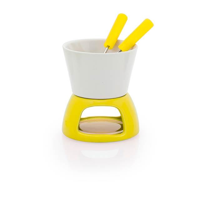 Kenux fondue - žlutá