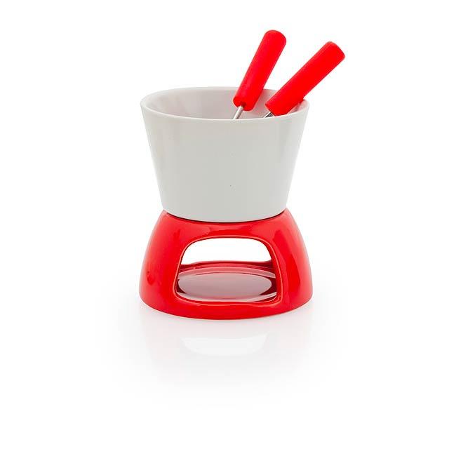 Kenux fondue - červená