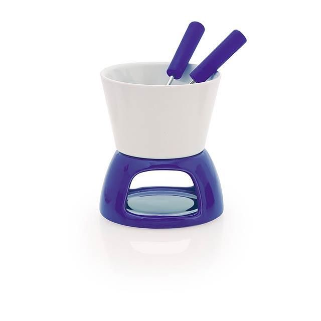 Kenux fondue - modrá