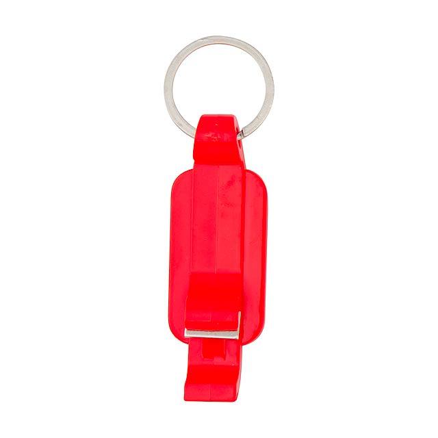 Endor klíčenka - červená