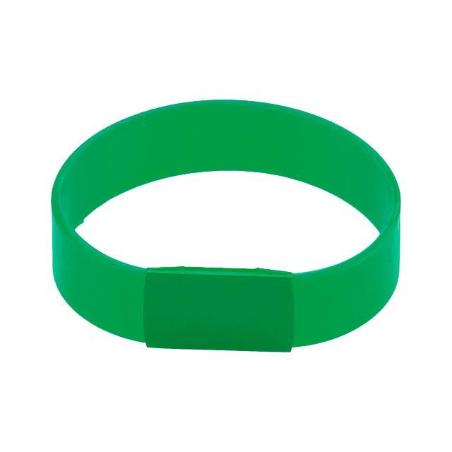 Baren Náramek - zelená