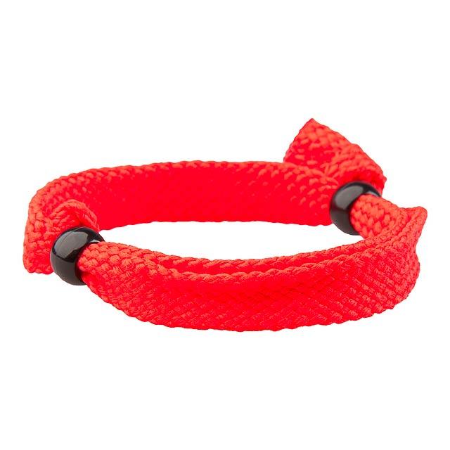 Mitjansi náramek - červená