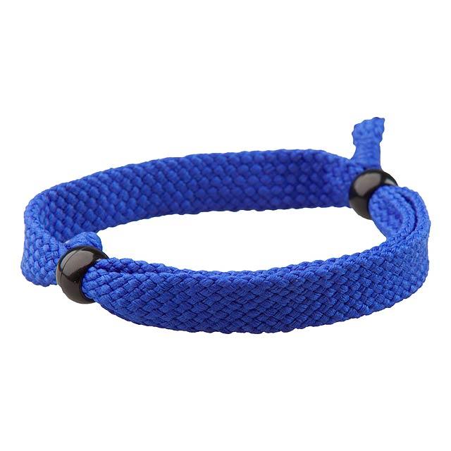 Mitjansi náramek - modrá