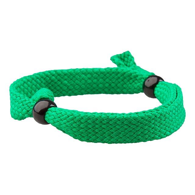 Mitjansi náramek - zelená