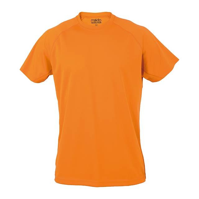 Tecnic Plus T sportovní tričko - oranžová