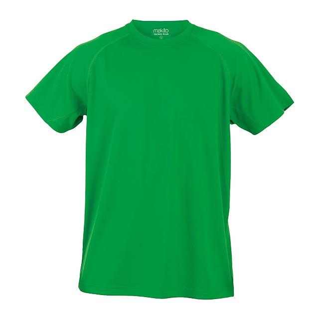 Tecnic Plus T sportovní tričko - zelená