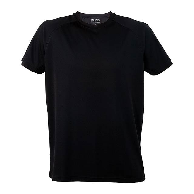 Tecnic Plus T sportovní tričko - černá