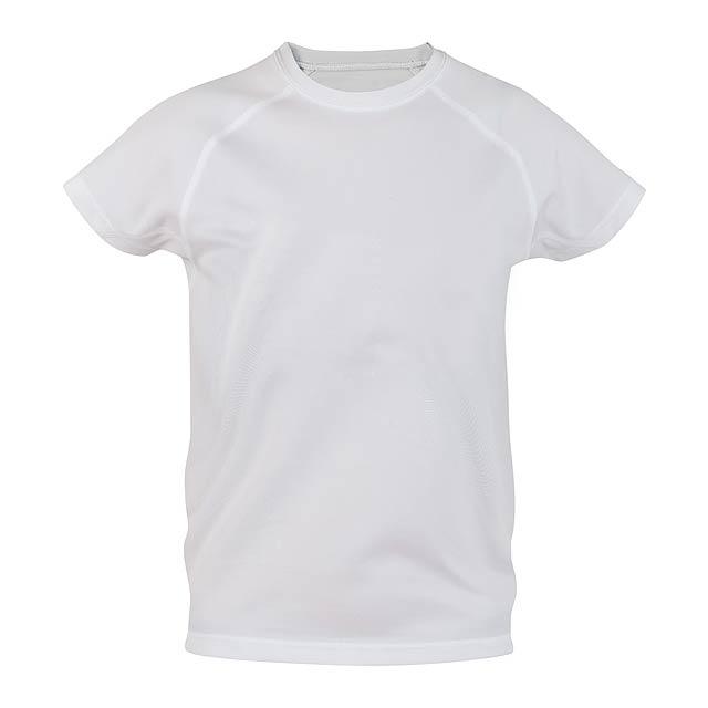 Tecnic Plus K sportovní tričko pro děti - bílá