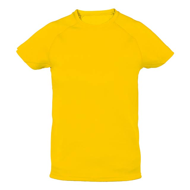 Tecnic Plus K sportovní tričko pro děti - žlutá