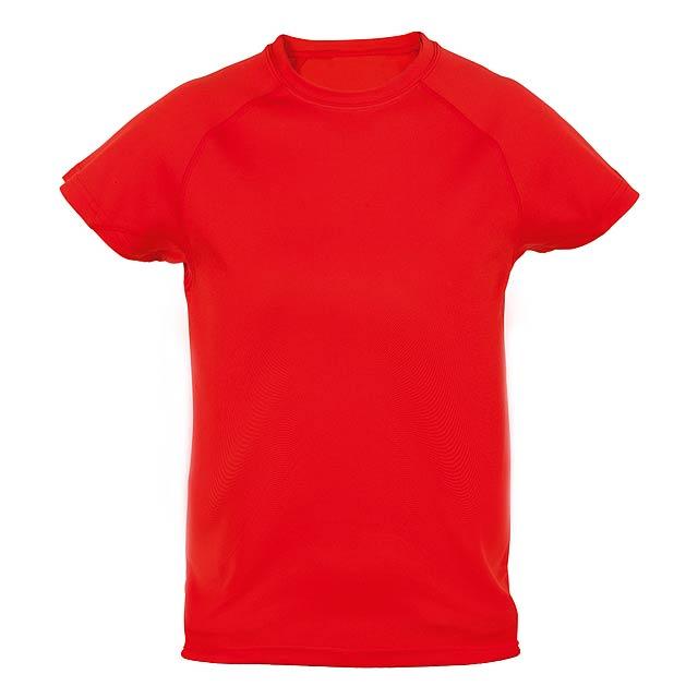 Tecnic Plus K sportovní tričko pro děti - červená