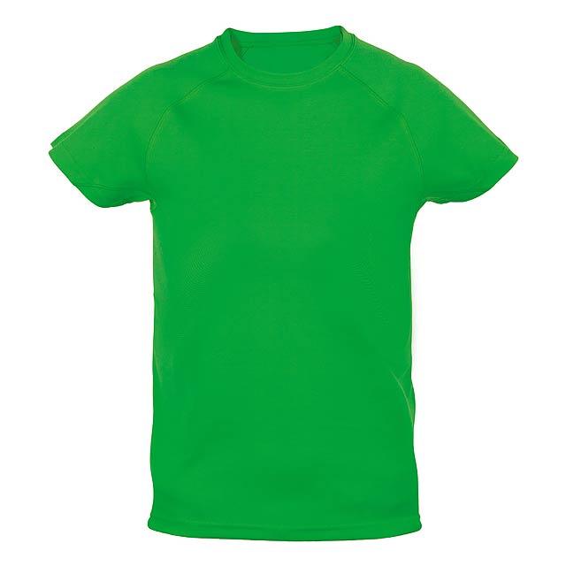 Tecnic Plus K sportovní tričko pro děti - zelená