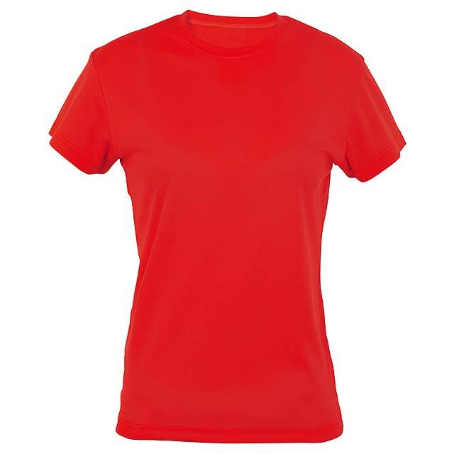 Tecnic Plus Woman funkční dámské tričko - červená