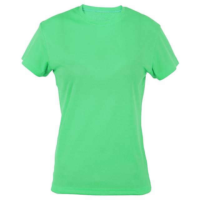 Tecnic Plus Woman funkční dámské tričko - zelená