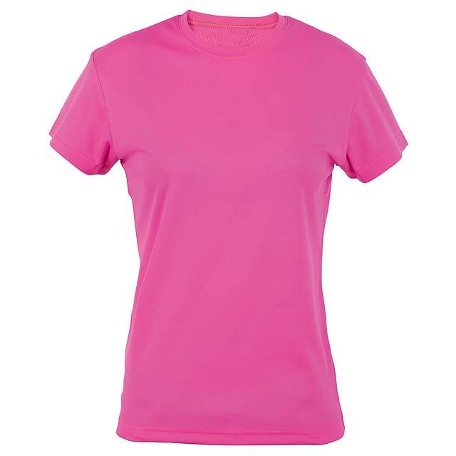 Tecnic Plus Woman funkční dámské tričko - růžová