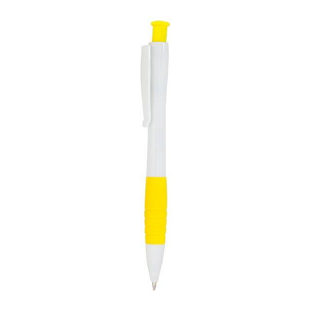 Alan kuličkové pero - žltá