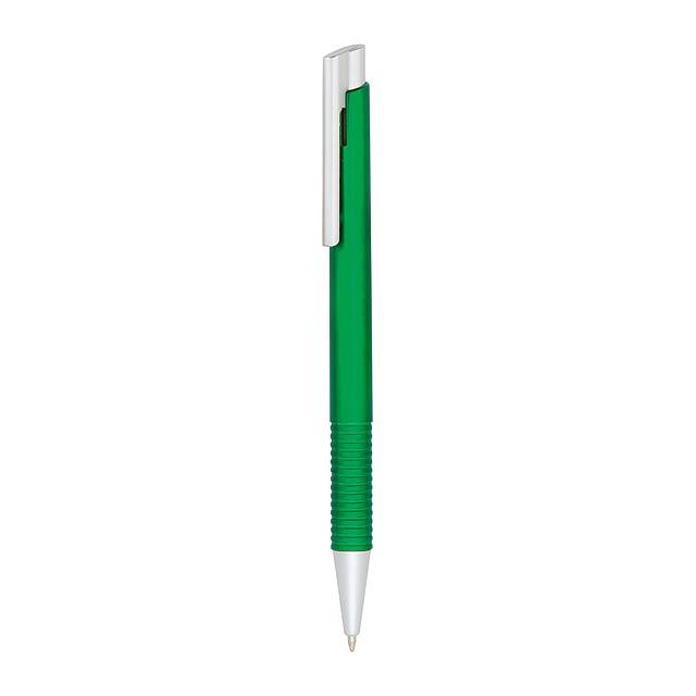 Visok kuličkové pero - zelená