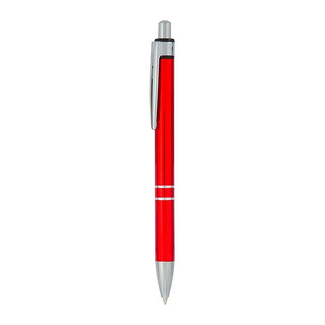 Malko kuličkové pero - červená