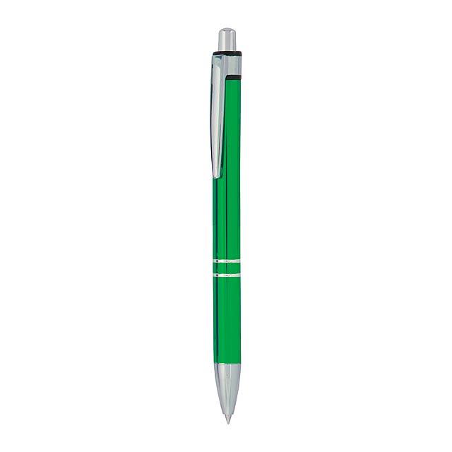 Malko kuličkové pero - zelená