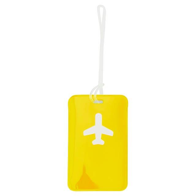 Raner visačka na zavazadla - žltá