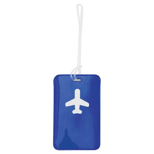 Raner visačka na zavazadla - modrá