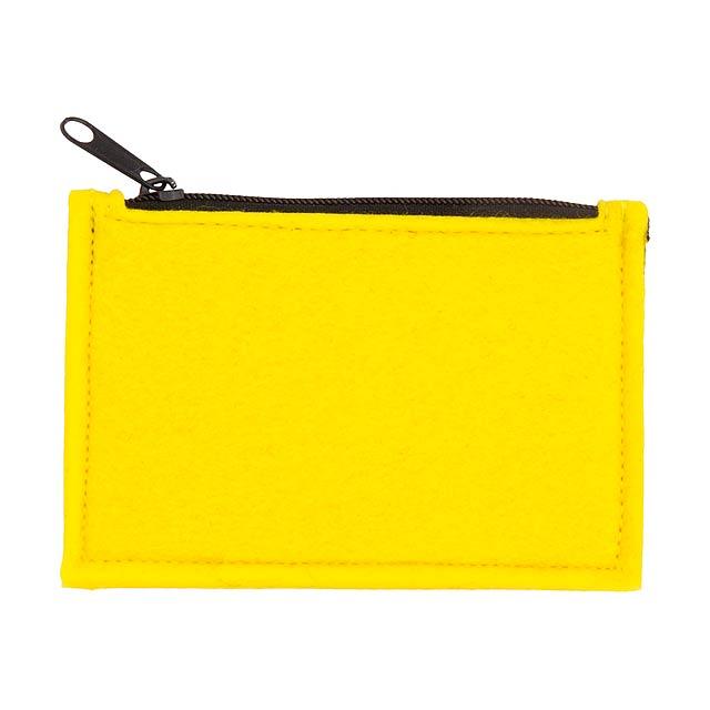 Yinax peněženka - žlutá