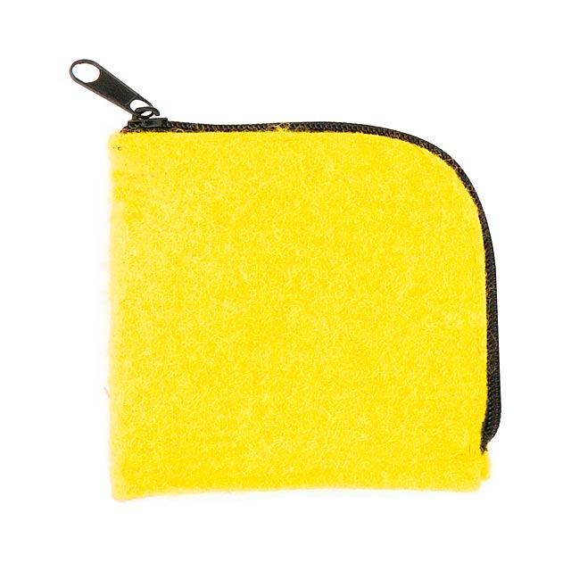 Lipak peněženka - žlutá