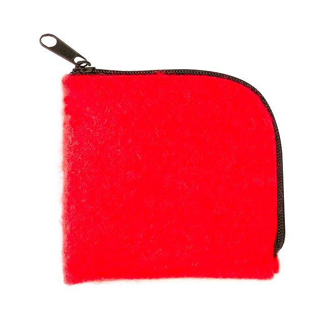 Lipak peněženka - červená