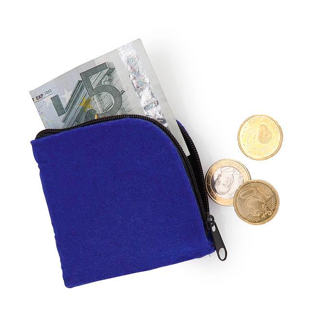 Lipak peněženka - modrá