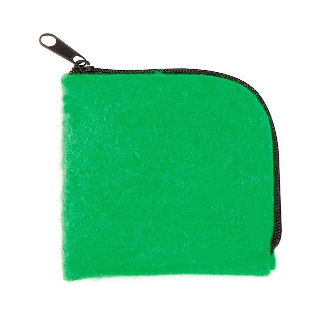Lipak peněženka - zelená