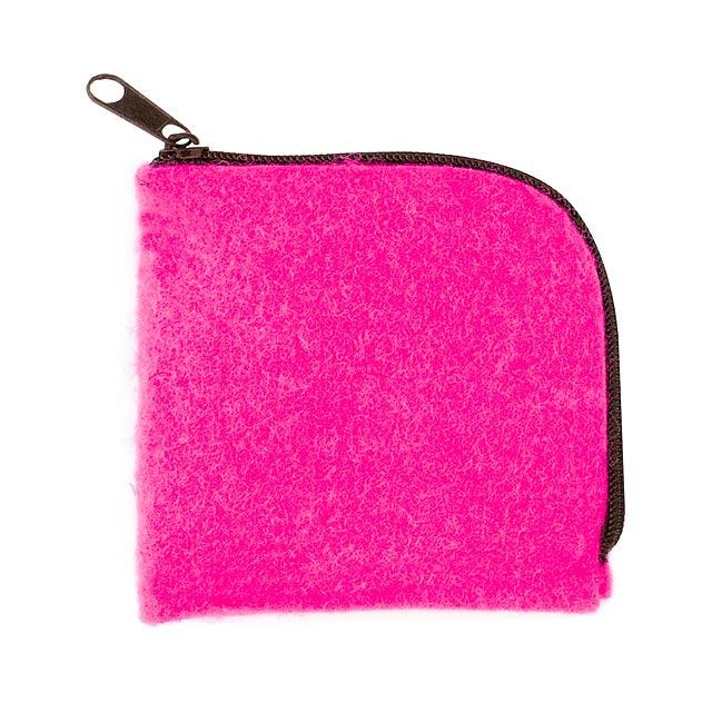 Lipak peněženka - fuchsiová (tm. růžová)