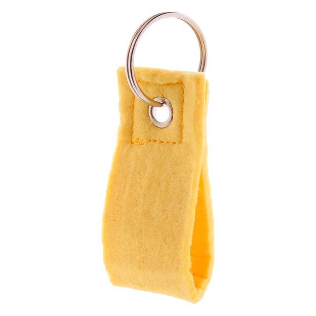 Yeko přívěšek na klíče - žlutá