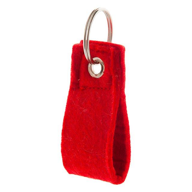 Yeko přívěšek na klíče - červená
