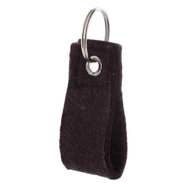 Yeko přívěšek na klíče - černá