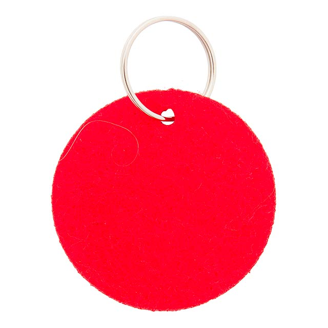 Nicles přívěšek na klíče - červená