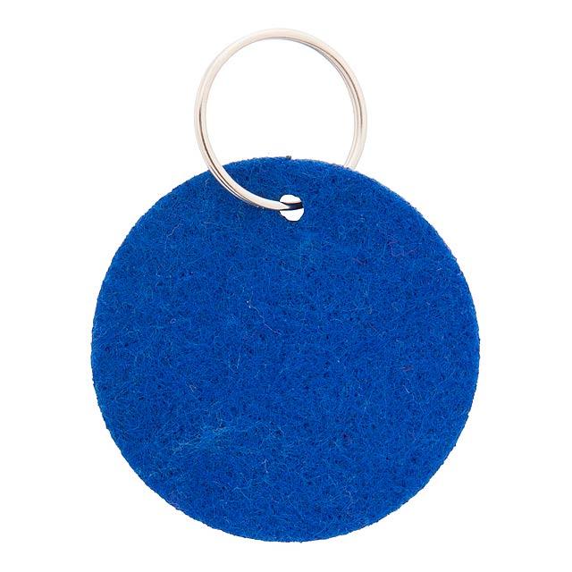 Schlüsselanhänger - blau